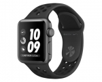 Apple Watch Nike+ 38mm Series 3 GPS Space Gray Aluminum Case...