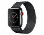 Apple Watch 42mm Series 3 GPS + Cellular Space Black Stainle...