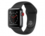 Apple Watch 38mm Series 3 GPS + Cellular Space Black Stainle...