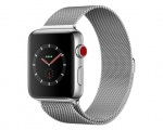 Apple Watch 42mm Series 3 GPS + Cellular Stainless Steel Cas...