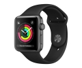 Apple Watch Series 3 GPS 42mm Space Gray Aluminum ...