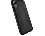 Чехол Speck для iPhone X Presidio Grip - Black/Black