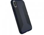 Чехол Speck для iPhone X Presidio Grip Eclipse Blue/Carbon B...