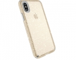 Чехол Speck для iPhone X Presidio Clear With Gold Glitter/Cl...