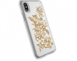 Чехол Speck для iPhone X Presidio Shimmer Floral Metallic Go...