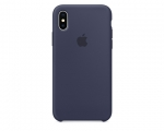Чехол Apple Silicone Case LUX Copy Midnight Blue для iPhone ...