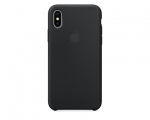 Чехол Apple Silicone Case LUX Copy Black для iPhone X