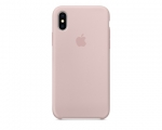 Чехол Apple Silicone Case LUX Copy Pink Sand для iPhone X