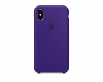 Чехол Apple Silicone Case LUX Copy Ultra Violet для iPhone X