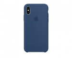 Чехол Apple Silicone Case LUX Copy Blue Cobalt для iPhone X
