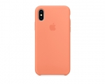 Чехол Apple Silicone Case LUX Copy Peach для iPhone X