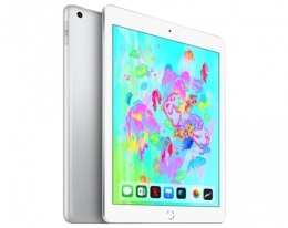 Apple iPad 128 GB Wi-Fi + LTE Silver (MR732) 2018
