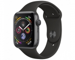 Apple Watch Series 4 GPS 44mm Space Gray Aluminum Case with ...