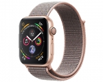 Apple Watch Series 4 GPS 44mm Gold Aluminum Case with Pink S...