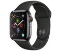 Apple Watch Series 4 GPS + Cellular 40mm Space Bla...