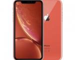 Apple iPhone XR 64GB Coral (MT172) Dual-Sim