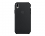 Чехол Apple Silicone Case LUX Copy Black для iPhone XR