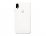 Чехол Apple Silicone Case LUX Copy White для iPhone XR