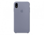 Чехол Apple Silicone Case LUX Copy Lavender Gray для iPhone ...