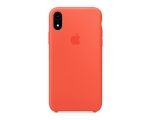 Чехол Apple Silicone Case LUX Copy Nectarine для iPhone XR