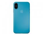 Чехол Laut SlimSkin Blue для iPhone X (LAUT_IP8_SS_BL)