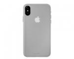 Чехол Laut SlimSkin Clear/White для iPhone X (LAUT_IP8_SS_C)