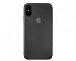 Чехол Laut SlimSkin Black для iPhone X (LAUT_IP8_SS_BK)