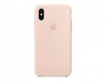 Чехол Apple Silicone Case LUX Copy Pink Sand для iPhone XS