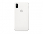 Чехол Apple Silicone Case LUX Copy White для iPhone XS