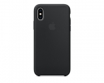 Чехол Apple Silicone Case LUX Copy Black для iPhone XS