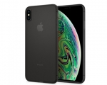 Чехол Spigen Air Skin Black для iPhone Xs Max (065CS24830)
