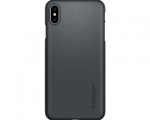 Чехол Spigen Thin Fit Graphite Gray для iPhone Xs Max (065CS...