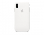 Чехол Apple Silicone Case LUX Copy White для iPhone XS Max