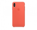 Чехол Apple Silicone Case LUX Copy Nectarine для iPhone XS M...