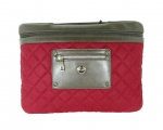 "Сумка Knomo Slim Small Quilted Felt  13""/14"" Berry..."