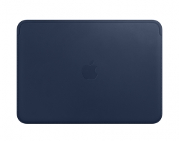 Чехол Apple Leather Sleeve Midnight Blue для MacBook 12