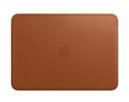 Чехол Apple Leather Sleeve Saddle Brown для MacBook 12