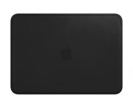 Чехол Apple Leather Sleeve Black для MacBook 12