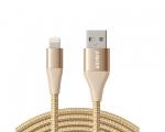 Кабель Anker PowerLine+ II Lightning Cable Gold 3м (AK-A8454...