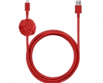 Кабель NATIVE UNION Night Cable Red 3 м (NCABLE-L-RED-V2)