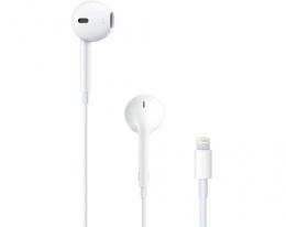Наушники Apple EarPods с разъемом Lightning (MMTN2)