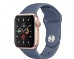 Apple Watch Series 5 GPS 40mm Gold Aluminum Case with Alaska...