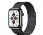 Apple Watch Series 5 GPS + Cellular 44mm Space Black Stainle...