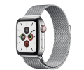 Apple Watch Series 5 GPS + LTE 44mm Stainless Stee...
