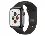 Apple Watch Series 5 GPS + LTE 44mm Space Black Stainless St...