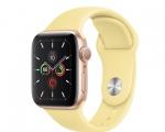 Apple Watch Series 5 GPS 40mm Gold Aluminum Case with Lemon ...