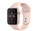 Apple Watch Series 5 GPS 44mm Gold Aluminum Case w...