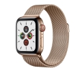 Apple Watch Series 5 GPS + LTE 44mm Gold Stainless...