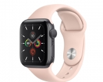 Apple Watch Series 5 GPS 40mm Space Gray Aluminum Case with ...