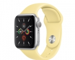 Apple Watch Series 5 GPS 40mm Silver Aluminum Case with Lemo...